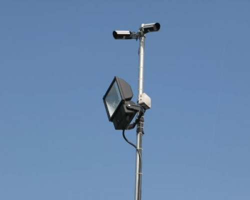 The storage centre is covered via recorded CCTV and floodlighting