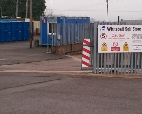 Low Cost Self Storage Units in Taunton  Whiteball