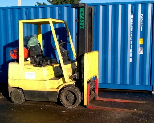 Forklift truck service available | Whiteball Self Store