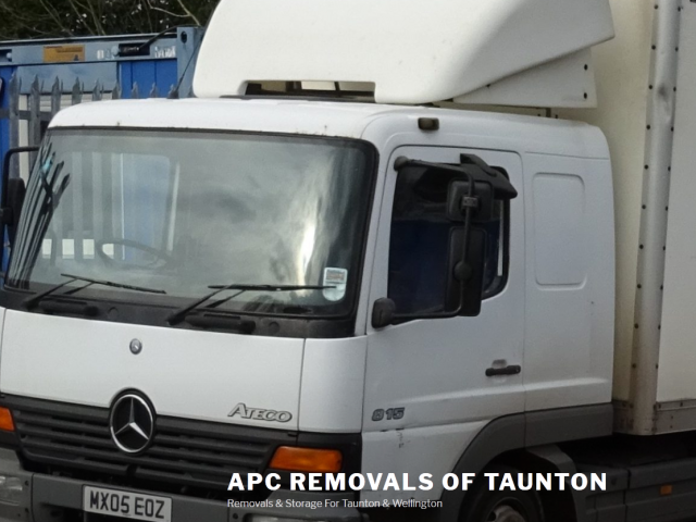 Low cost Taunton and Wellington removals and storage