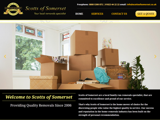 Removals for Somerset
