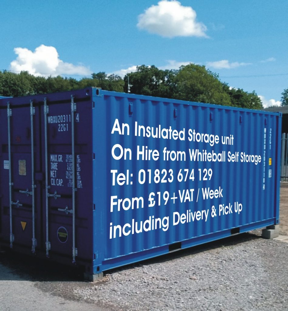 Stoor2Door. An insulated self storage delivered to your premises.