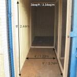 a 9 x 4 insulated self storage unit