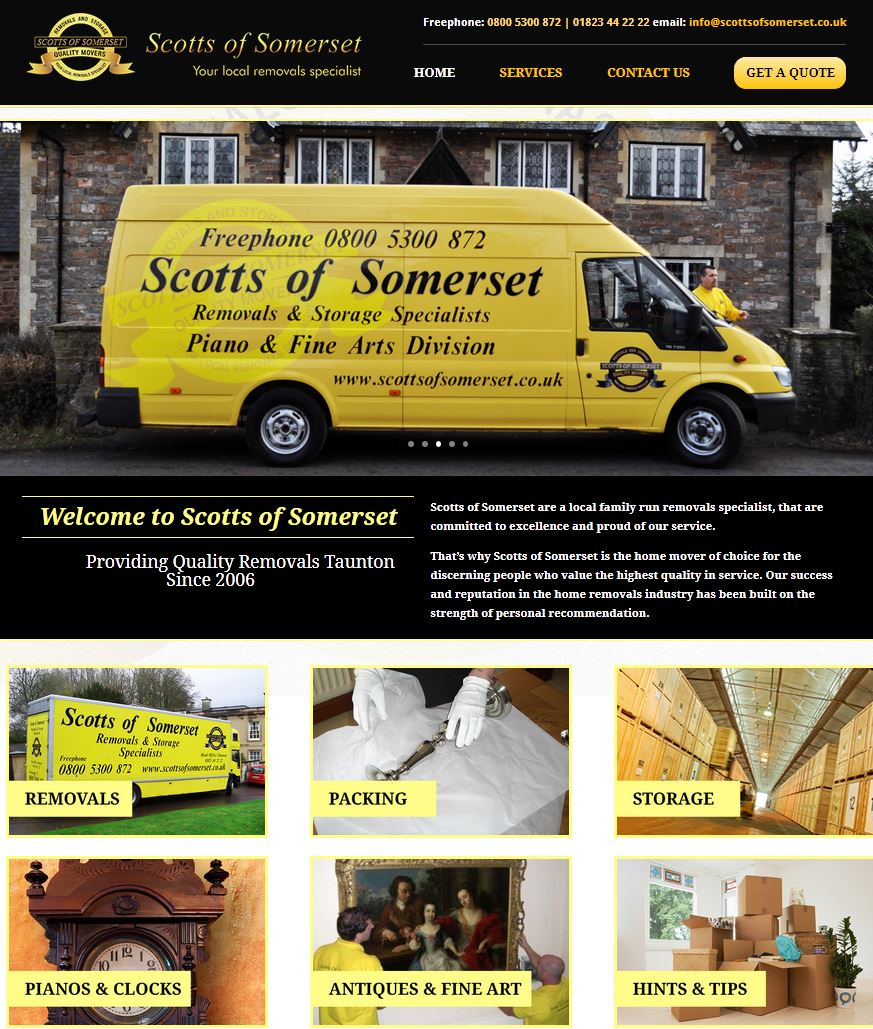 Local and nationwide removals service