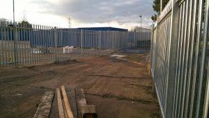 Storage compounds near Wellington Somerset.