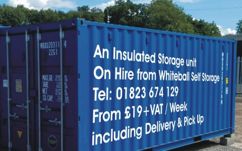 Storage delivered to your premises