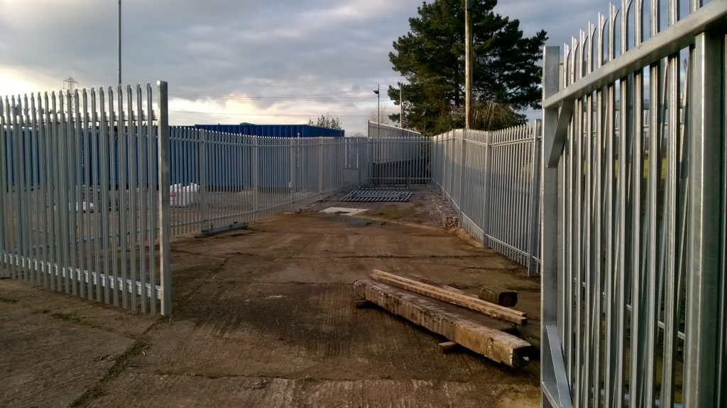 Access to Secure storage compounds innear Wellington Somerset