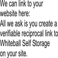 Encourage whiteball self storage reciprocal links