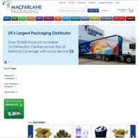 UK's largest distributor and supplier of packaging materials.